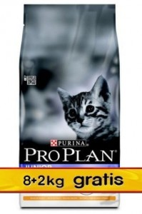 Purina Pro Plan Cat Original Kitten Optistart 10kg (8+2kg gratis)