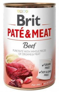 Brit Pate & Meat Dog Beef puszka 400g