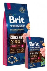 Brit Premium By Nature Junior L Large 3kg