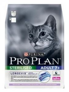 Purina Pro Plan Cat Sterilised 7+ Longevis Turkey 400g