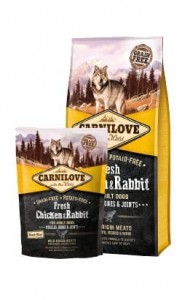 Carnilove Dog Fresh Chicken & Rabbit Adult - kurczak i królik 1,5kg