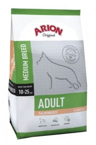 Arion Original Adult Medium Salmon & Rice 12kg