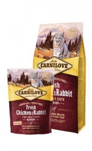 Carnilove Cat Fresh Chicken & Rabbit Gourmand - kurczak i królik 400g